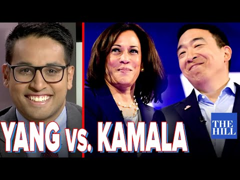 Saagar Enjeti: Why Andrew Yang is beating Kamala Harris