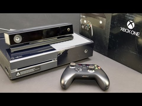 Microsoft Xbox One: Unboxing