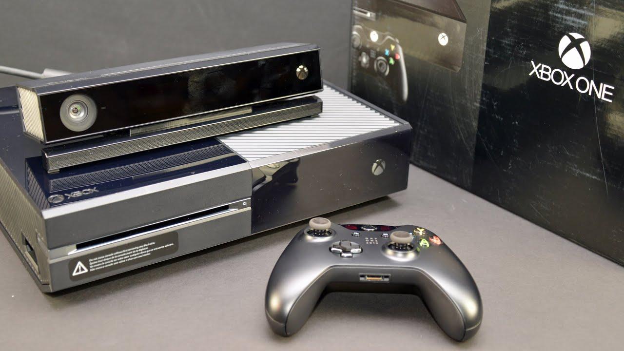 Xbox One Unboxing Microsoft Xbox ...