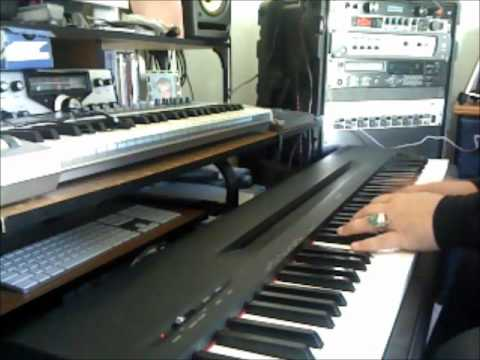 Big Clayton Watson Playing Boogie Woogie Blues on The Piano www.bigclayton.com