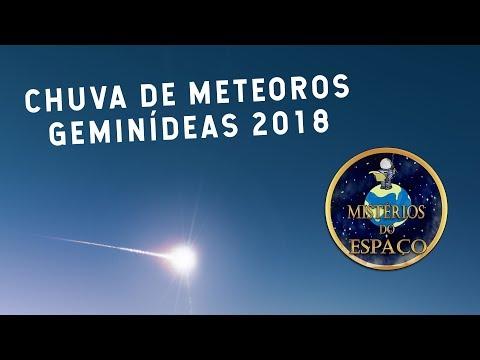 AO VIVO: CHUVA DE METEOROS GEMINÍDEAS 2017 (A ÚLTIMA DO ANO)
