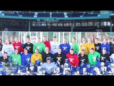 UMass Boston Men's Hockey Practices At Fenway Park (1/11/17)