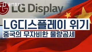 LG디스플레이 위기 / 중국의 무자비한 물량공세 [공병호TV]