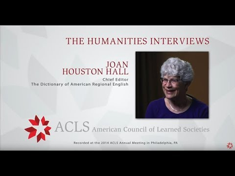 The Humanities Interviews: Joan Houston Hall