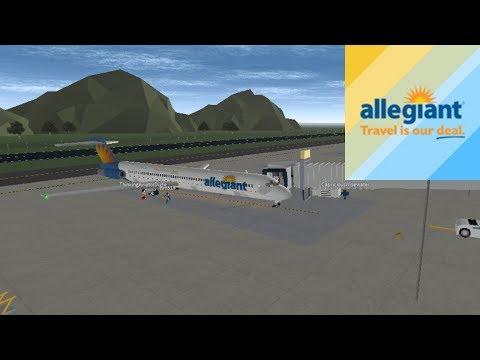 CAPTAIN | Allegiant Air - MD83 | ROBLOX