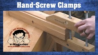Video Why do woodworkers still love wooden hand-screw clamps? (And how to use them!) download MP3, 3GP, MP4, WEBM, AVI, FLV Juli 2018
