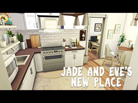 Jade & Eve's New Place 👜 || The Sims 4 Windenburg Townhouses: Speed build #2