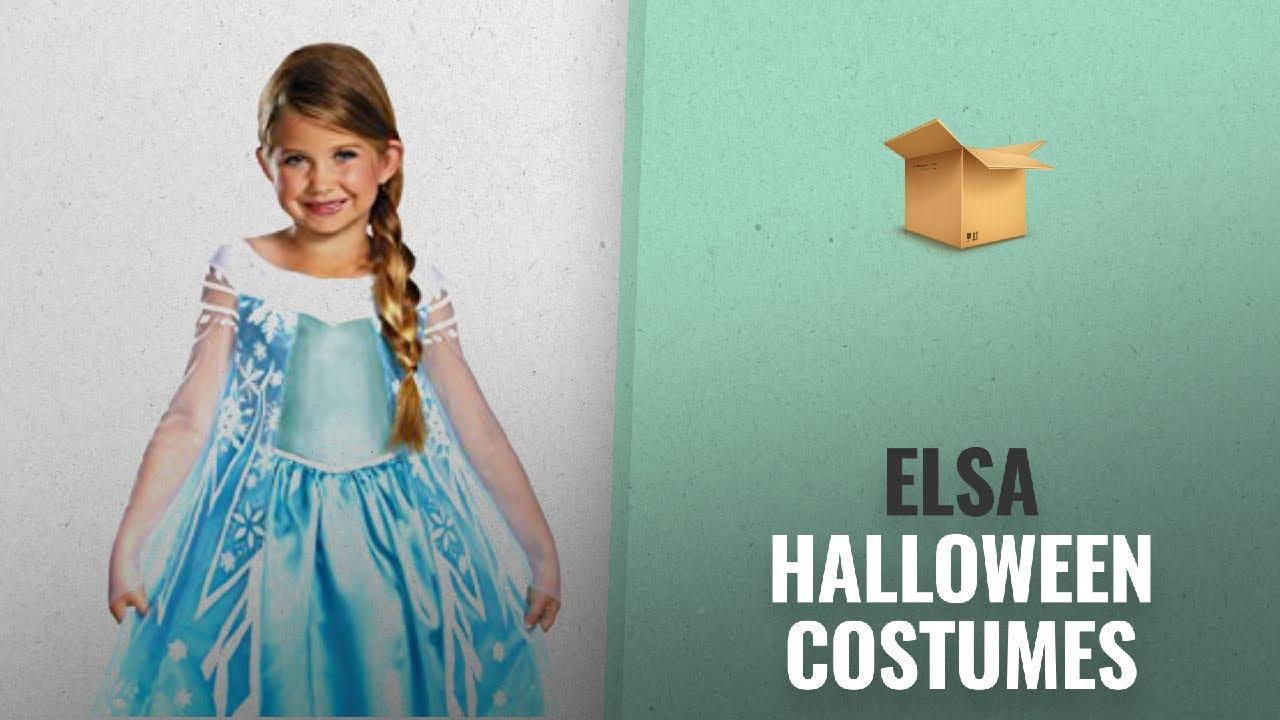 Top 10 Elsa Halloween Costumes For Kids [2018] | Great Halloween Ideas