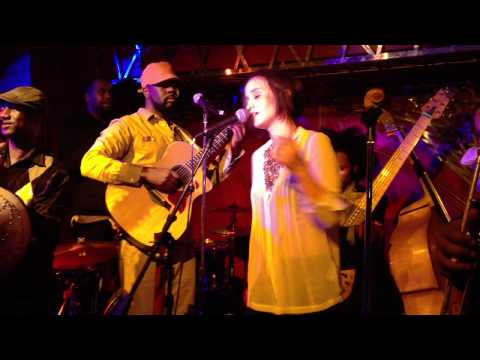 """Rachel Brown & Wyclef Jean - """"Redemption Song"""" - LIVE at The Darby 5/9/12"""