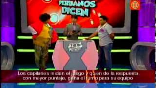 Programa 100 Peruanos Dicen del 4 de Mayo del 2013 - Completo
