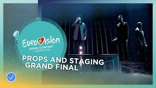 Props and Staging - Grand Final - Eurovision 2018