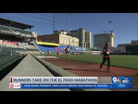 Runners take on the El Paso Marathon