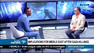 Implications for Middle East after Gaza killings: Na'eem Jeenah