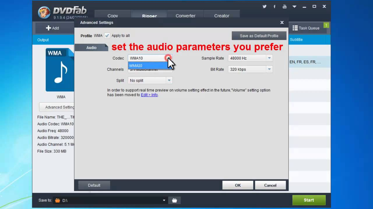 Download DVD Audio Extractor The setup program for the latest version of DVD Audio Extractor is always available here for free download. DVD Audio Extractor 8.0.0. Shareware License: A 30 day free trial license is included in the setup by default. The software is fully functional without any limits within the trial period.