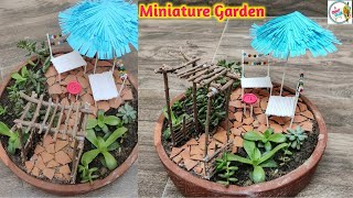 MiniatureGarden #FairyGarden #GardenDecoration Hello, everyone!! Th...