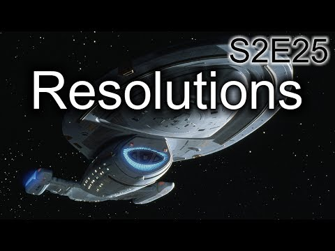 Star Trek Voyager Ruminations: S2E25 Resolutions