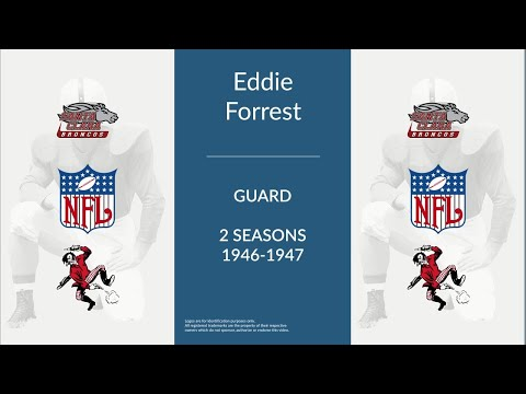 Eddie Forrest: Football Guard