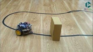 Hướng dẫn lập trình cho RoboCar Dò đường theo vạch - Line Flow Robot
