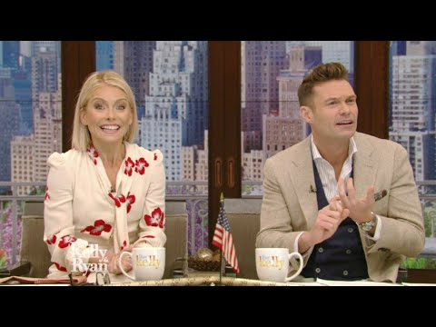 Kelly Ripa And Ryan Seacrest Both Cried On Morning Show
