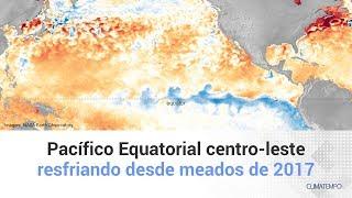 Pacífico Equatorial centro-leste está em La Niña Advisory