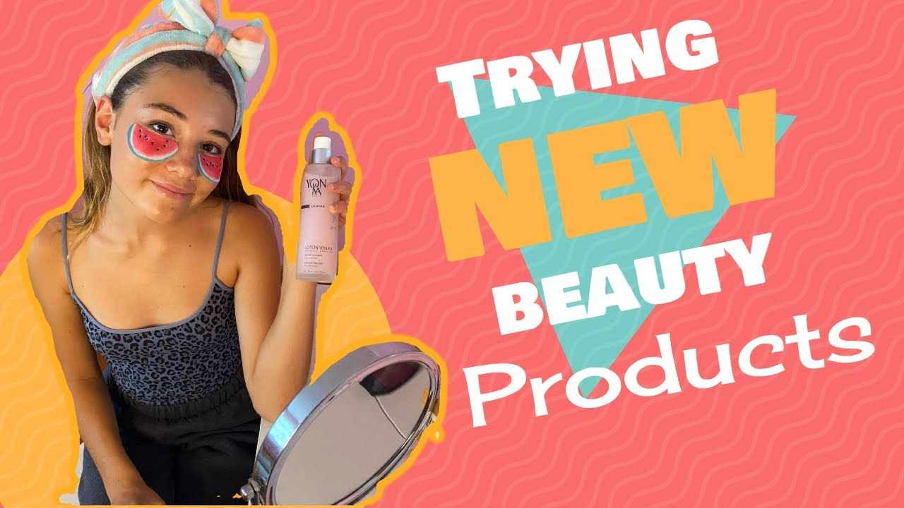 Trying NEW awesome Beauty Products from Paris, London & MORE | Clementine Lea