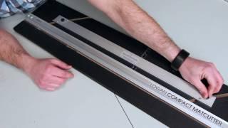 Cutting a Beveled Edge Window Mat -Logan Mat Cutter - How To