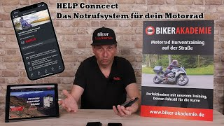 Calimoto - eCall - Help Connect - Notrufsystem für Biker