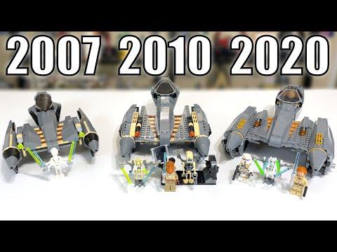 LEGO Star Wars General Grievous Starfighter Comparison! (7656, 8095, 75286 | 2007, 2010, 2020)
