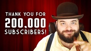THANK YOU for 200,000 Subscribers! Channel Update, New T-Shirts, Mod Load Order, & More