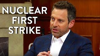 Sam Harris: Nuclear First Strike on the Muslim World?