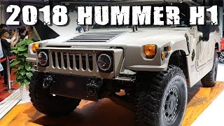 All New Hummer H1: Revival of The Legend In Form Of 2018 Humvee C-Series