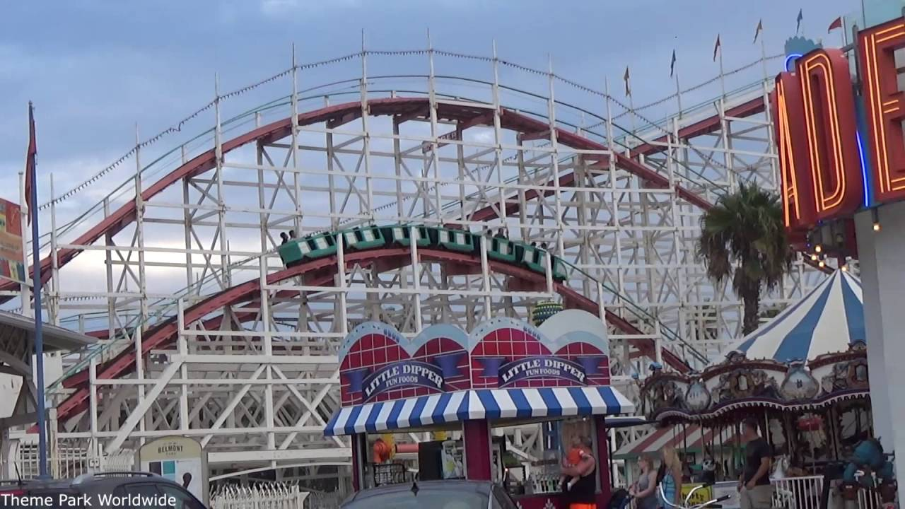 giant dipper hd off ride belmont park [ 1280 x 720 Pixel ]