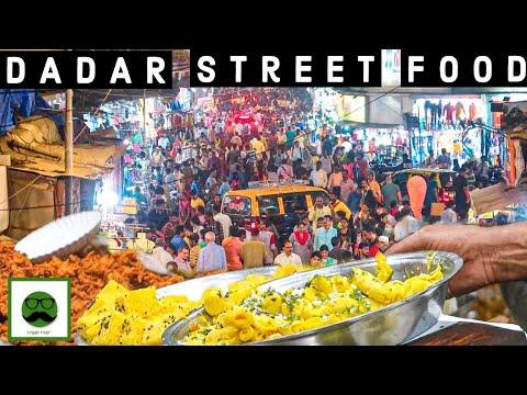 Rangeen Dadar ka Jhakas Khana   Mumbai Street Food   Veggiepaaji Gardi EP 10