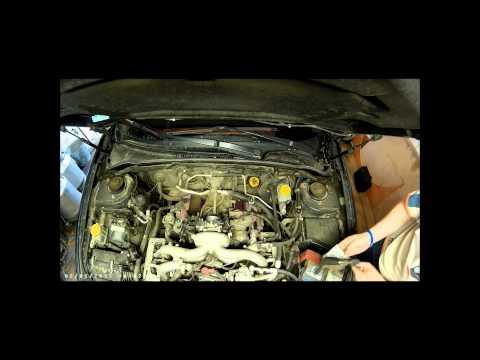 Снятие дроссельной заслонки Subaru Impreza