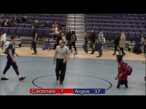 Wrestling North Idaho College vs UP 2NOV18