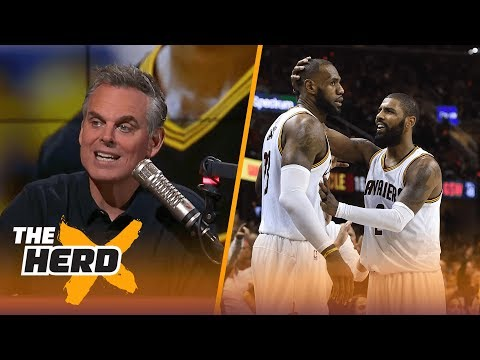 Are LeBron James and Kyrie Irving really feuding? How much can Derrick Rose help? | THE HERD