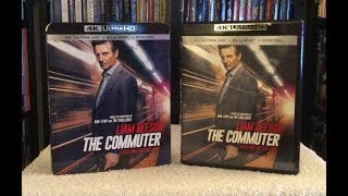 The Commuter 4K BLU RAY REVIEW + Unboxing