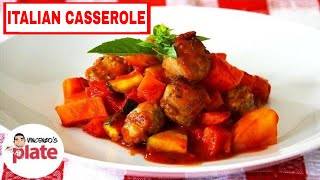 Italian Sausage Casserole | Easy Baked Italian Sausages And Potatoes Recipe | Comfort Food