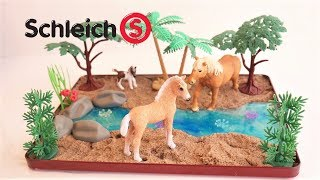 Schleich Horses Magical River DIY | Schleich Horses Wild Life Scene DIY