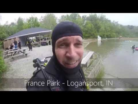Loren Scott - Scuba diving in France Park - Logansport, IN