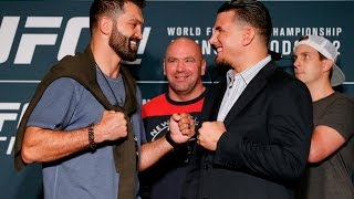 UFC 191: Andrei Arlovski vs. Frank Mir Staredown