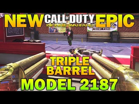 NEW EPIC TRIPLE BARREL MODEL 2187 - New DLC Weapons In Infinite Warfare Closer Than You Think