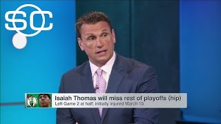 Celtics Could Fare Better Against Cavs Without Isaiah Thomas | SportsCenter | ESPN