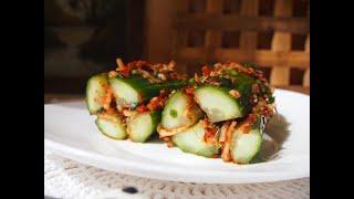 Корейская кухня: Кимчи из огурцов или Ои собаги (오이소박이)