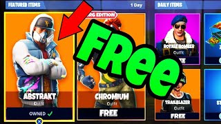 FORTNITE ABSTRAKT SKIN FREE ! FORTNITE VBUCKS GLITCH ENGLISH/FREE SKIN GLITCH ENGLISH