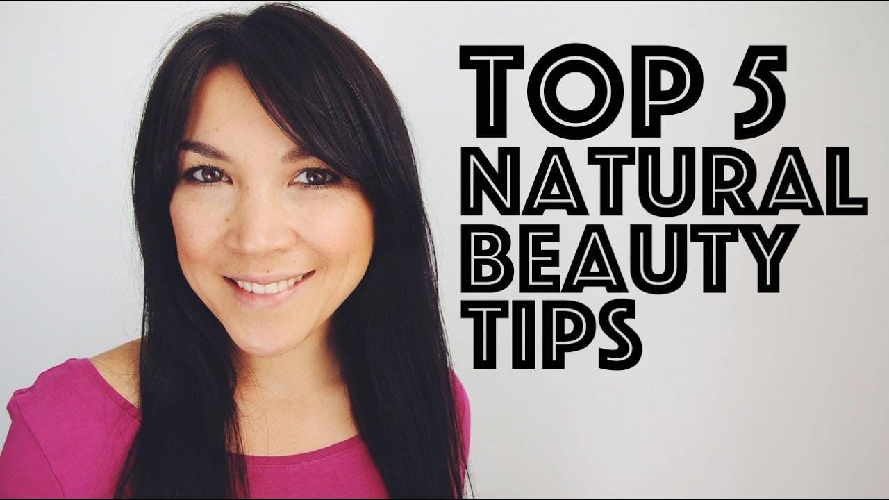 TOP 8 NATURAL BEAUTY TIPS