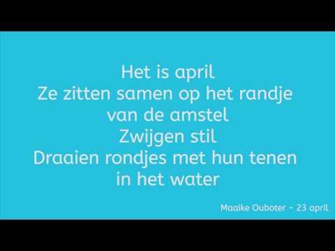 Maaike Ouboter - 23 April        (HQ + Lyrics)