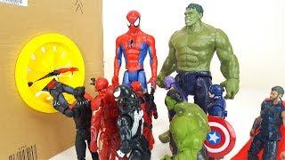 Spider-man, Hulk, Iron Man, Avengers Step into The Box Marvel HERO Story
