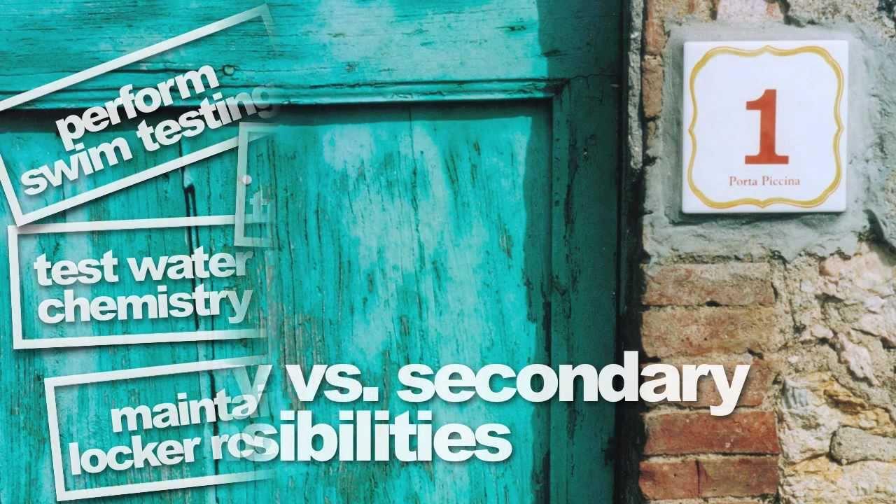 002e49bac98 Lifeguard Commandments  Secondary Responsibilities - YouTube