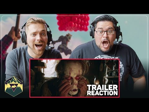 IT Chapter Two – Official Teaser Trailer Reaction